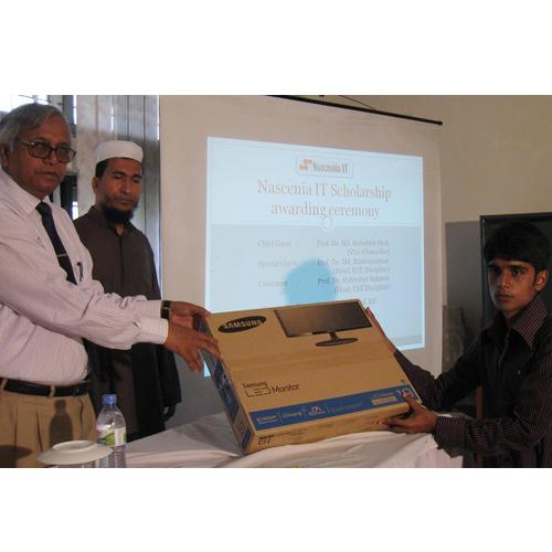 Scholarship to Apu Saha