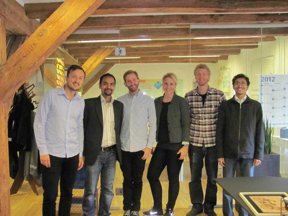 In Copenhagen at the office of Better Collective