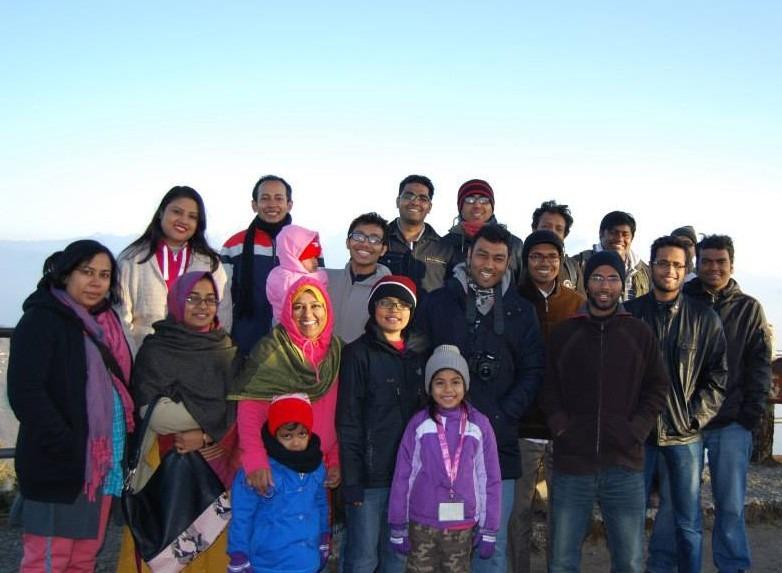 Nascenia Team in Darjeeling