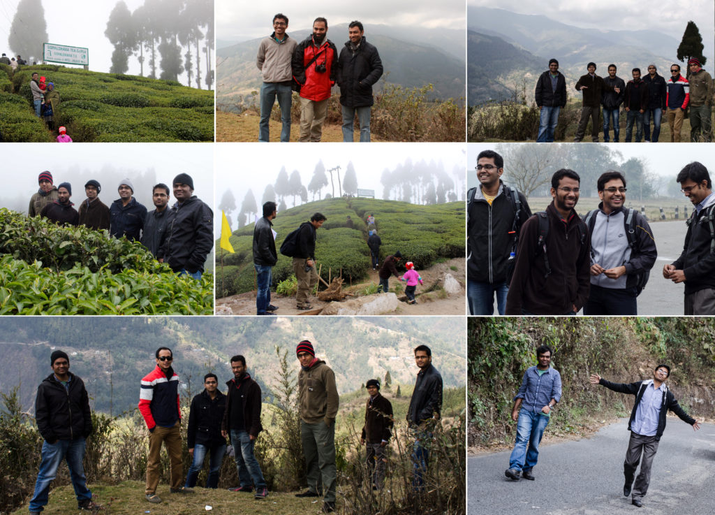 Nascenia team visiting some of wonderful places in Darjeeling