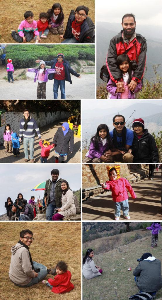Team enjoying their time with family in Darjeeling | Retreat at Darjeeling