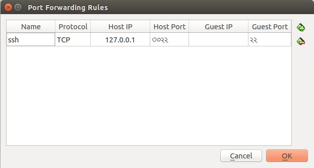 Port Forwarding Rules