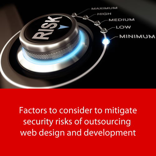 IT outsourcing risks | Factors to consider to mitigate security risks | Nascenia
