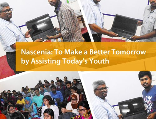 Nascenia: To Make a Better Tomorrow by Assisting Today's Youth