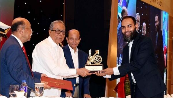 Nascenia got president's award